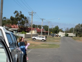 The mains street of Menindee