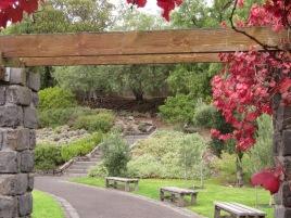 The Women's Peace Garden, (Photo copyright: Anne Lawson 2015)