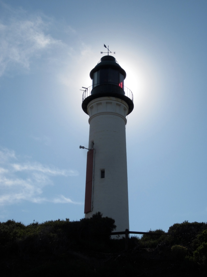 Queenscliff lighthouse (Photo copyright: Anne Lawson 2013)