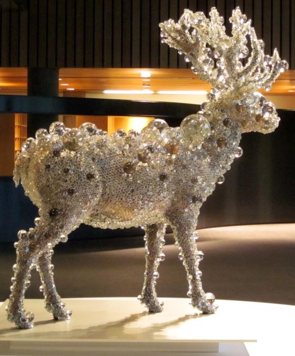 Kohei Nawa: PixiCell-Red Deer
