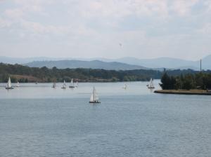 Lake Burley Griffen (Photo copyright: Anne Lawson 2009)