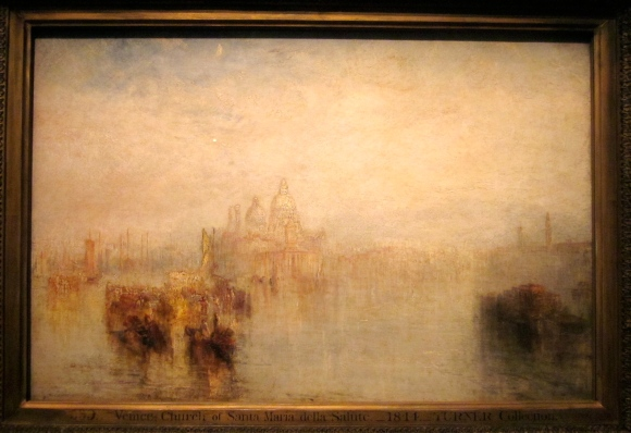 Venice -- Maria della Salute (Exhibited 1844)