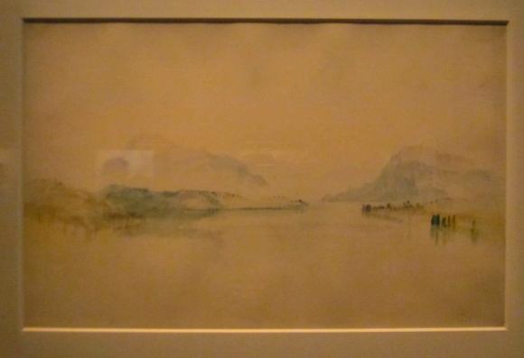 Lake Lucern, with the Rigi, c. 1841-42