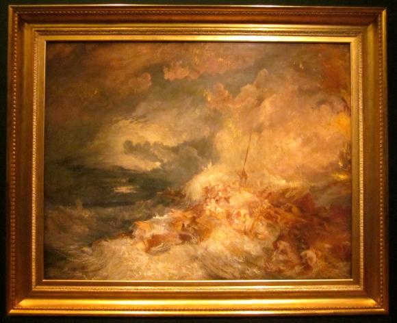 A disaster at sea c. 1835?