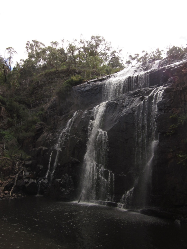 The falls from the base (Photo copyright: Anne Lawson, 2013)