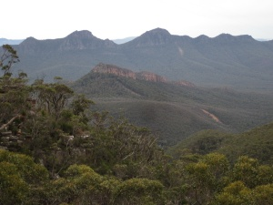 The Grampians, from Mt William (photo copyright: Anne Lawson, 2013)