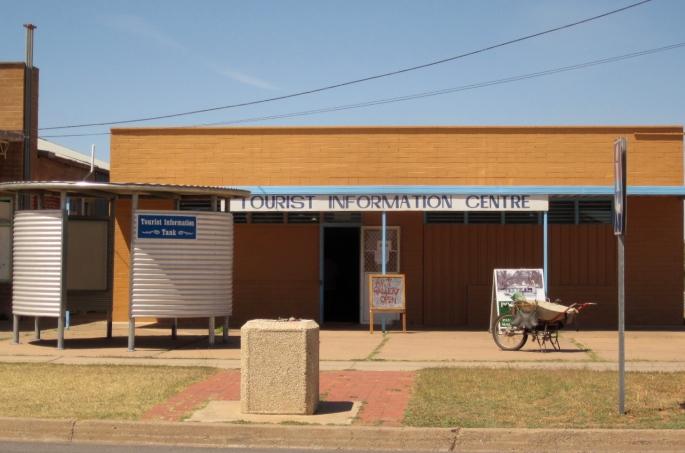 The Tourist Information Centre (Photo copyright: Anne Lawson, 2013)