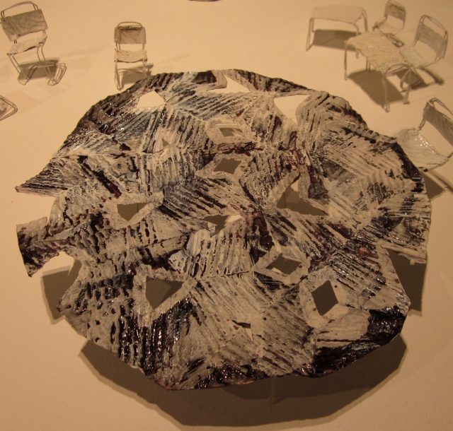 Wendy Korol's work (Photocopy right: Anne Lawson, 2013)