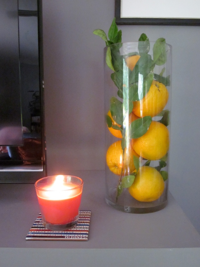 Real lemons to add more colour. (Photo copyright: Anne Lawson 2013)