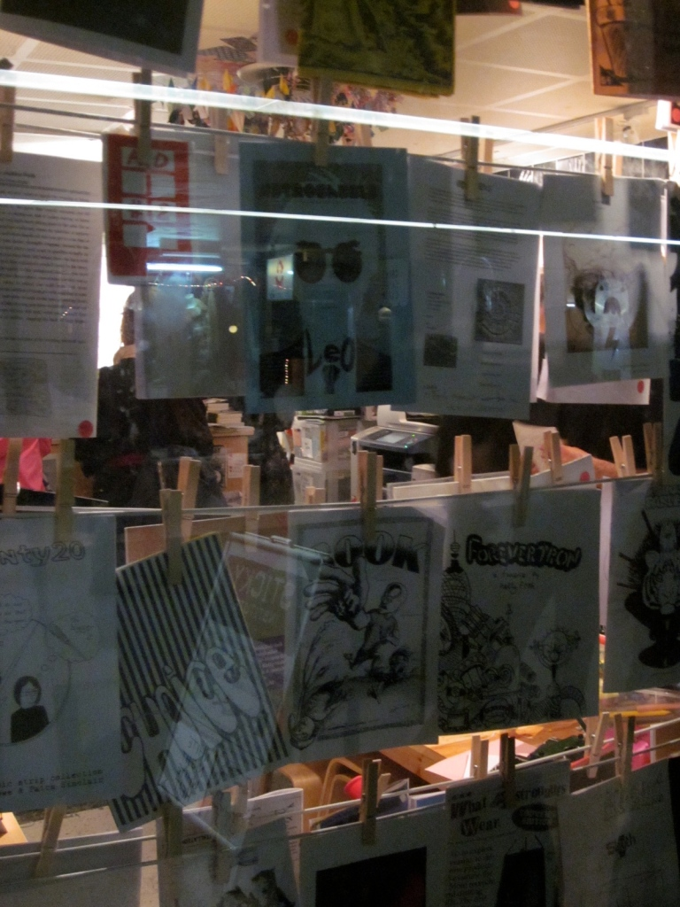 The window display. (Photo copyright: Anne Lawson, 2014)
