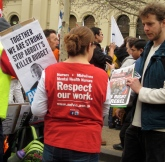 The Nurses Federation had a long battle with the State Government over pay and conditions.