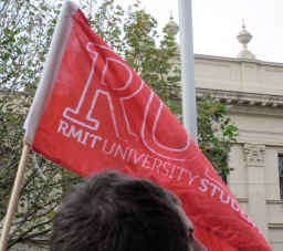 Students will be hit with higher fees and more debt. Good to see the RMIT students there too.