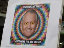 Attacks on the national, ad-free broadcaster, the ABC