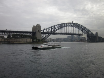 The Sydney Harbour Bridge (Photo copyright: Anne Lawson 2014)