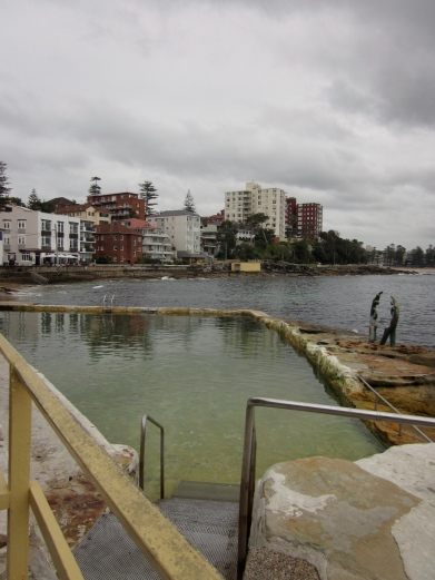 A small ocean swimming pool at Manly. (Photo copyright: Anne Lawson 2014)