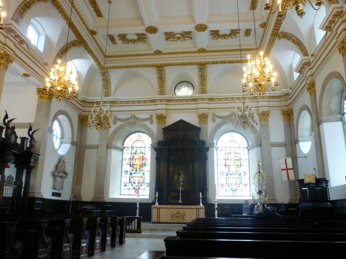 The light, space and splendour of the inside