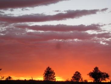 Sunrise over Rawnsley Bluff (Photo copyright: Anne Lawson, 2014)