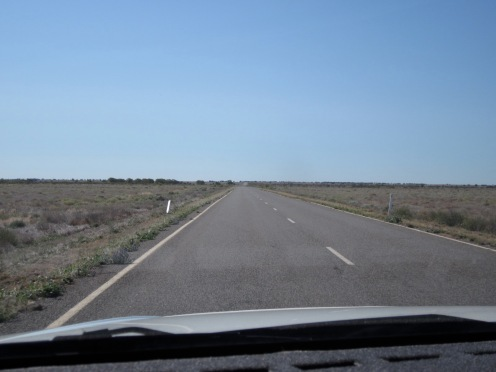 Menindee/Broken Hill Road (Photo copyright: Anne Lawson, 2011)