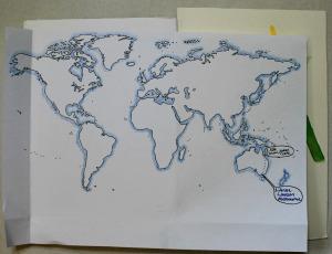 The Sketchbook's globetrotting