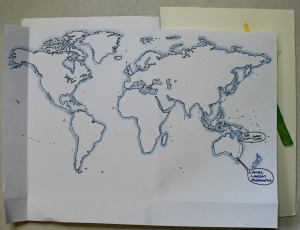 The Sketchbook's globetrotting