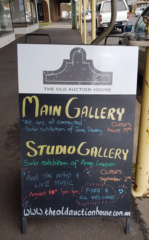 solo exhibition of Anne Lawson Art