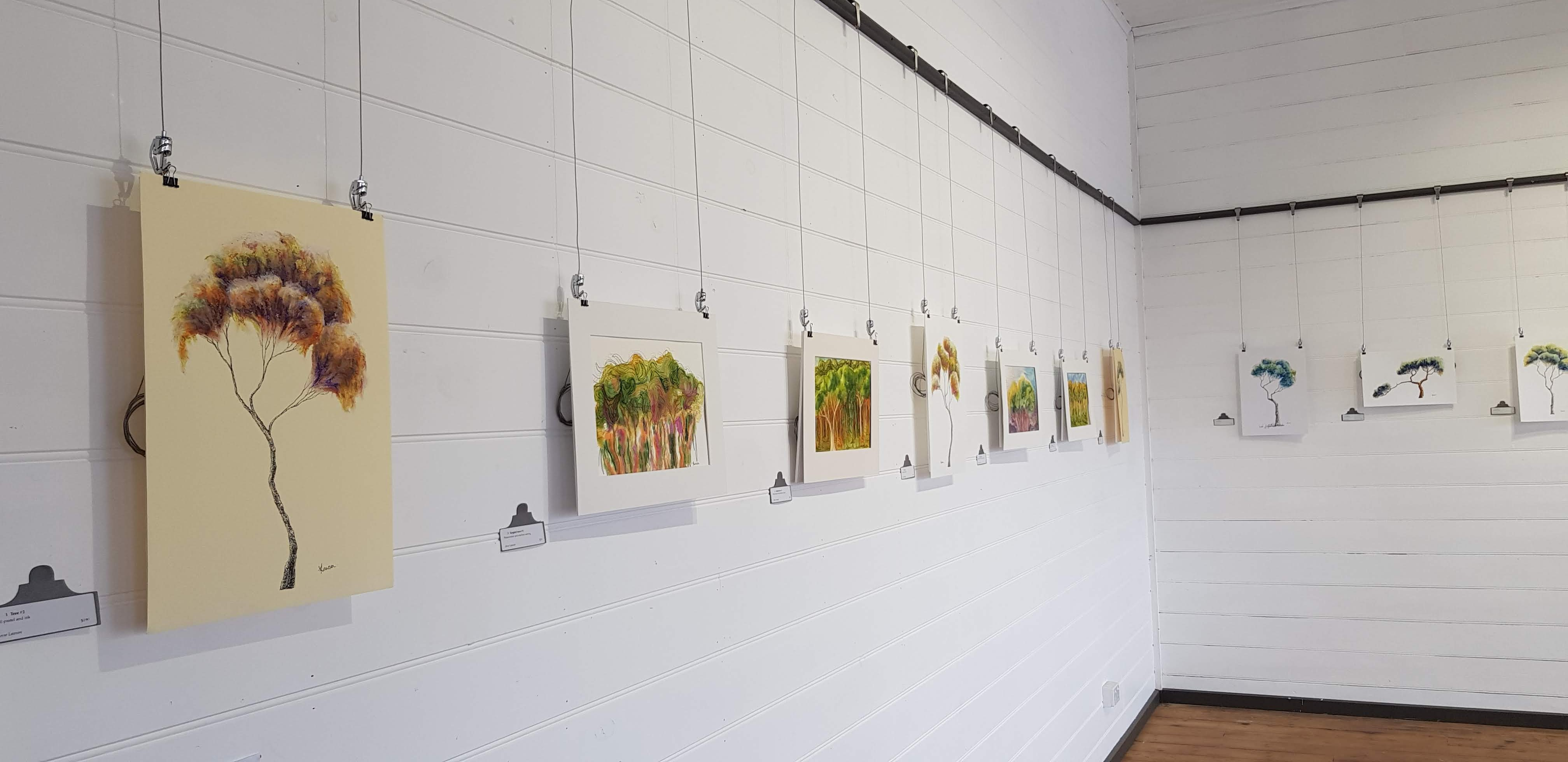 solo exhibition, the Old Auction House Gallery