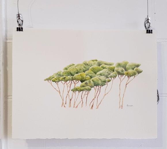 Anne Lawson Art tree painting