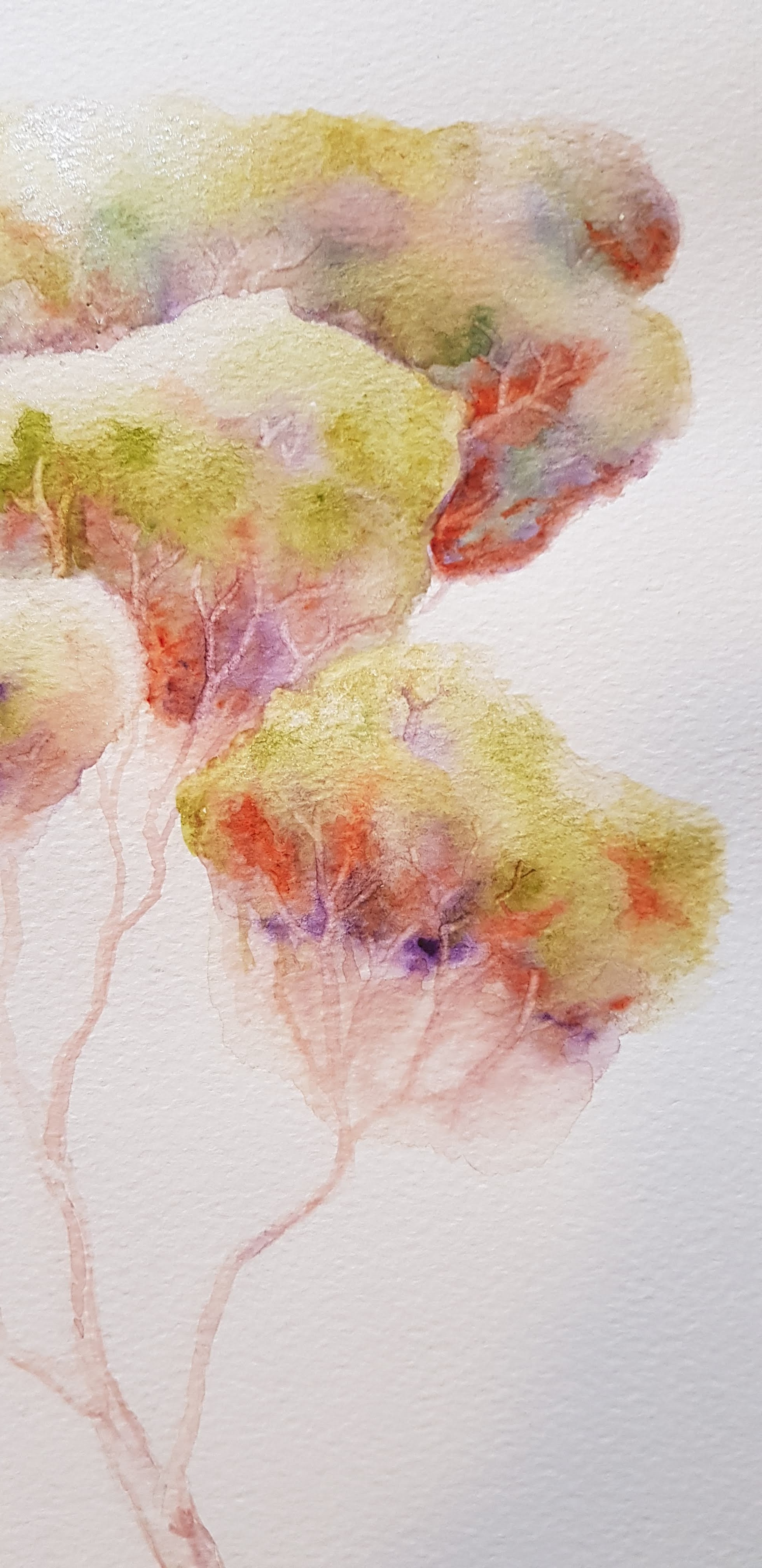 Tree painting from Anne Lawson Art