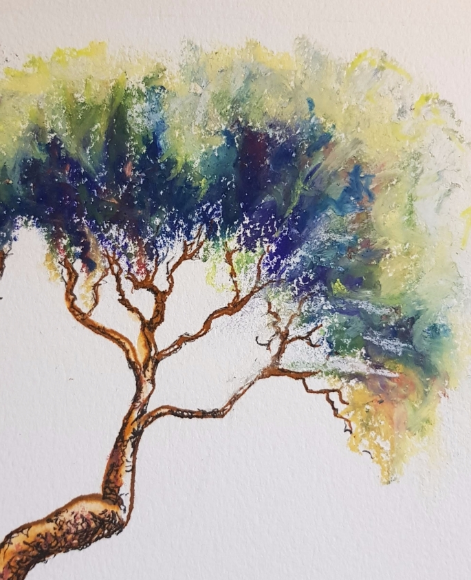 Original tree painting