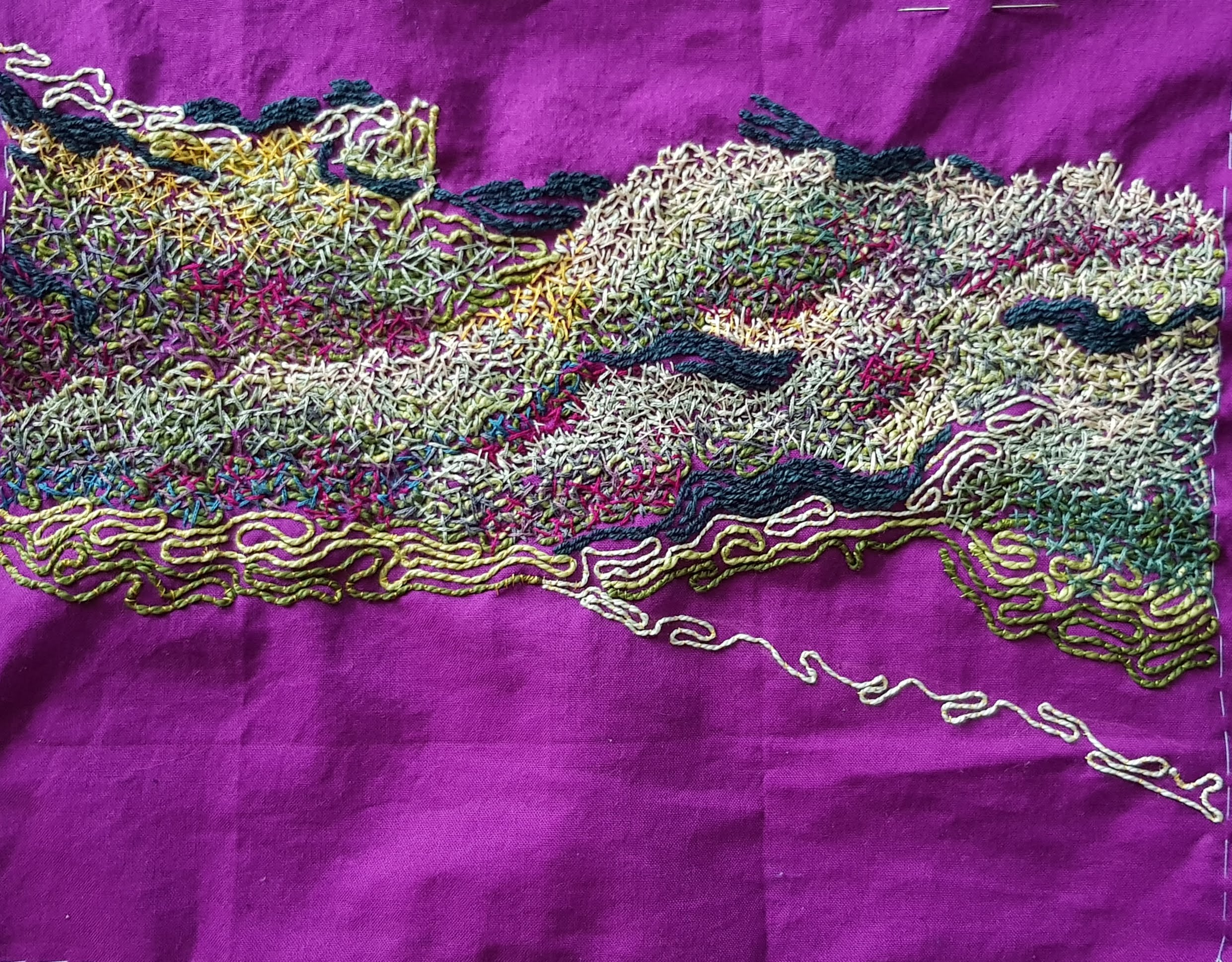 Contemporary embroidery
